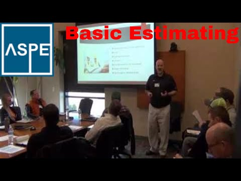 Basic Construction Cost Estimating, ASPE Chapter 32 Kansas City ...