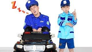 Senya plays the Police Profession and dismisses Sleep Cop