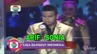 Arif (Sumatera Barat) - Sonia | Top 8 Group 2 Result Show LIDA Liga Dangdut Indonesia INDOSIAR