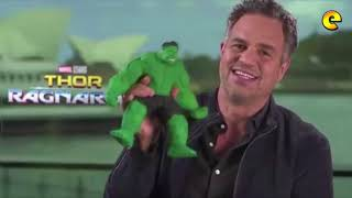 Mark Ruffalo And Chris Hemsworth Received Pinoy Made 'Tsinelas' Action Figures