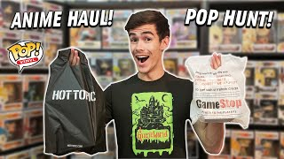 I Got These Anticipated Exclusives While Funko Pop Hunting | Hot Topic & Gamestop Funko Pop Haul!