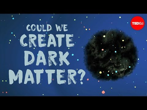 Could we create dark matter? - Rolf Landua