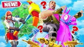 *NEW* HUNT The HUMAN LLAMA Gamemode In Fortnite Battle Royale!