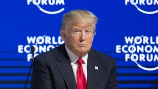 Donald Trump Davos World Economic Forum