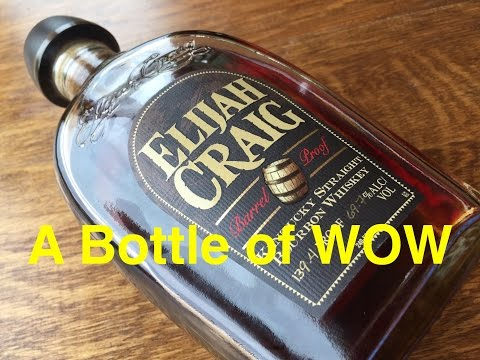 Whiskey Review #209 – Elijah Craig Barrel Proof Bourbon WOW Scotch Test Dummies Youtube