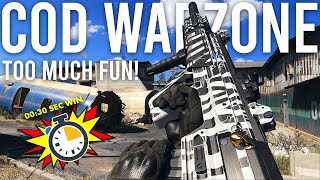 Call of Duty Warzone is TOO much fun!
