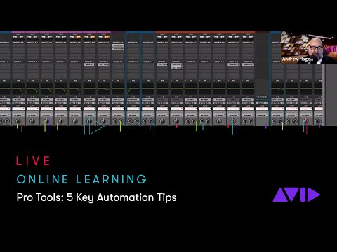 Avid Online Learning — Pro Tools: 5 Key Automation Tips