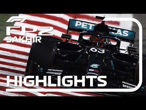 F1 第16戦サクヒール FP2の様子をまとめたハイライト動画