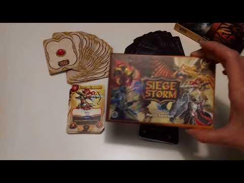 Siege Storm - box content
