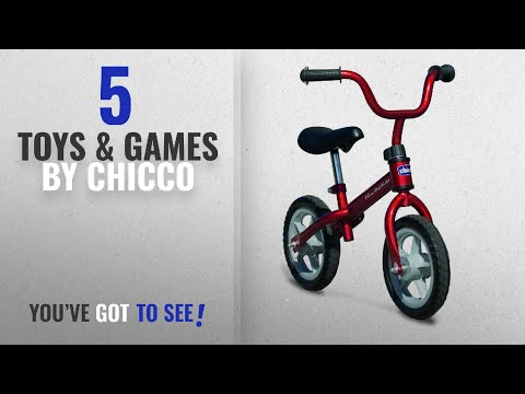 Top 10 Chicco Toys & Games [2018]: Chicco 1716000070 Red Bullet Balance Training Bike
