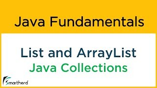 #10.1 Java ARRAY LIST tutorial example. Ordered Collection. Object Oriented Java
