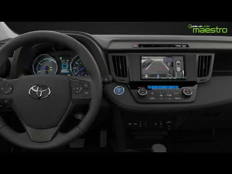 Maestro RR/RR2 - Controlling a Toyota multi-angle /360 camera from an aftermarket radio.
