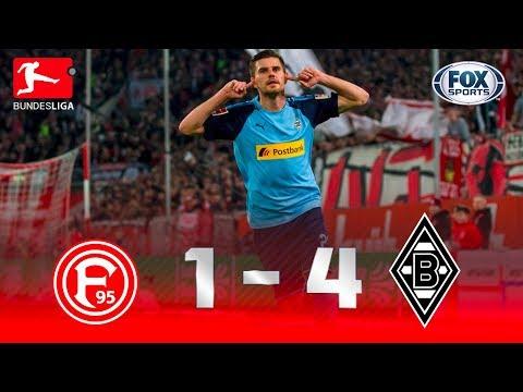 GOLEADA VISITANTE! Mönchengladbach atropela Düsseldorf na Bundesliga