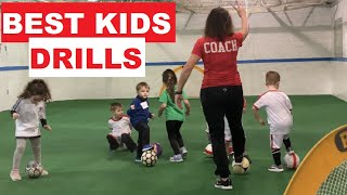 BEST SOCCER DRILLS FOR KIDS AGES 3-4 YEARS OLD Essential Football Drills for Kids