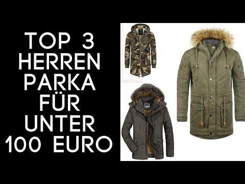 Parka Herren/ Herren Parkas Winter Top 3 auf Amazon für UNTER 100 EURO! In 2018!