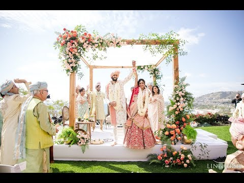 Puja & Sahil Indian Wedding Highlight | The Ritz Carlton Laguna Niguel