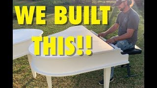 HOW TO BUILD A CUSTOM PIANO SHELL!