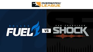 Quarter-Final A | Dallas Fuel vs San Francisco Shock | May Melee NA | Day 2