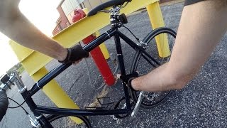Best Way To Lock Your Bicycle Tip Of The Day Commuting Bike Blogger