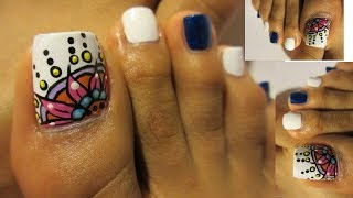 Video Rojo Intenso Unas Decoradas De Los Pies Mandalas Fall Winter