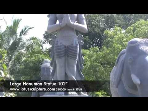 Large Praying Hanuman Statue 102
