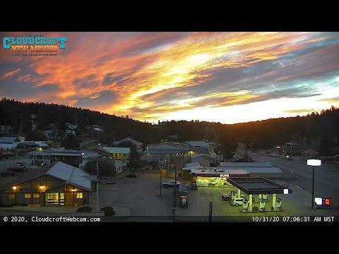 Live Tour of Cloudcroft, NM USA