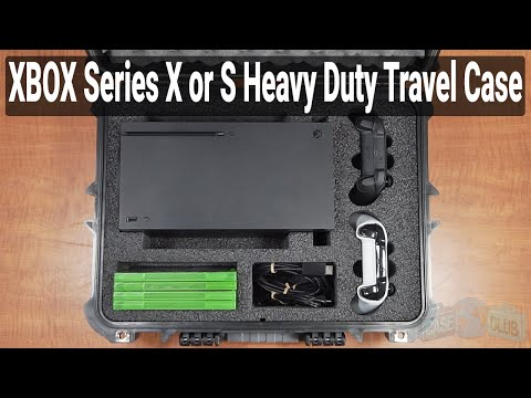 Xbox Series X Heavy Duty Travel Case - Featured Youtube Video