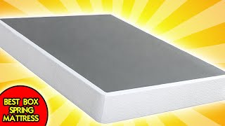 BEST BOX SPRING MATTRESS IN A BOX | Zinus 9 Inch High Profile Smart Box Spring Review & Setup