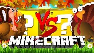 Minecraft | THANKSGIVING LUCKY BLOCK CHALLENGE | COOKING TURKEYS!!