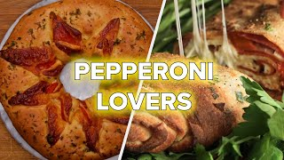 6 Drool-Worthy Recipes For Pepperoni Lovers •Tasty