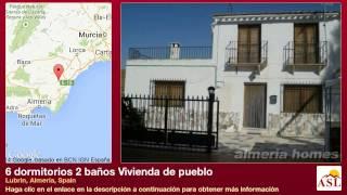 preview picture of video '6 dormitorios 2 baños Vivienda de pueblo se Vende en Lubrin, Almeria, Spain'