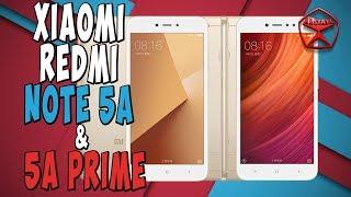 Обзор Xiaomi Redmi Note 5A и 5A Prime   / Арстайл /
