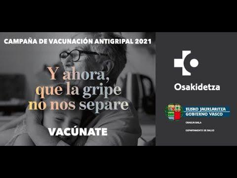 Vídeo campaña vacunación contra la gripe 2020
