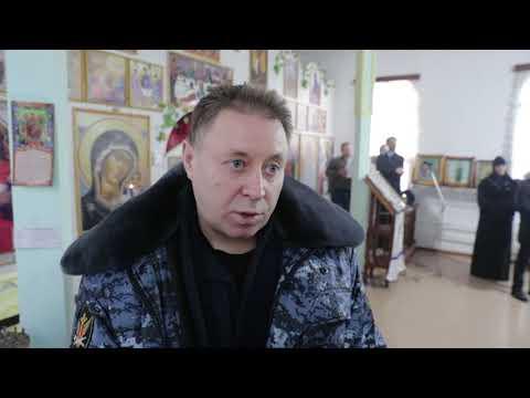В Святочные дни Митрополит Даниил посетил колонию строгого режима в Иковке