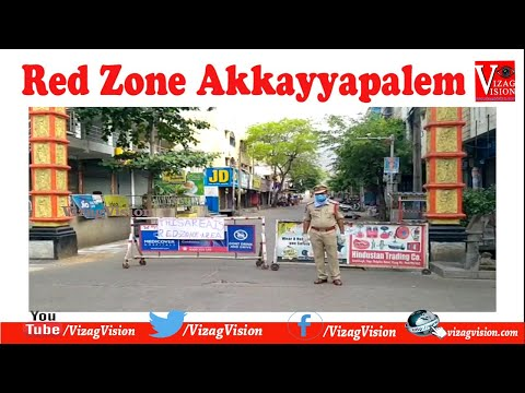 Red Zone Areas Akkayyapalem 80 feet Road & Thatichetlapalem in Visakhapatnam,Vizag Vision...