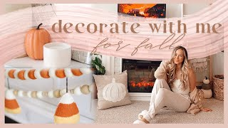 DECORATE WITH ME FOR FALL! 🍂✨