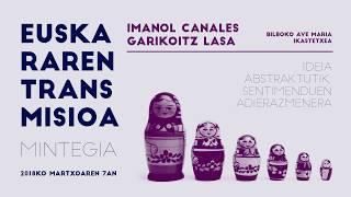 """Imanol Canales eta Garikoitz Lasa: """"Ideia abstraktutik, sentimenduen adierazmenera""""."""