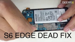 S6 edge dead fix by changing power ic (4K)