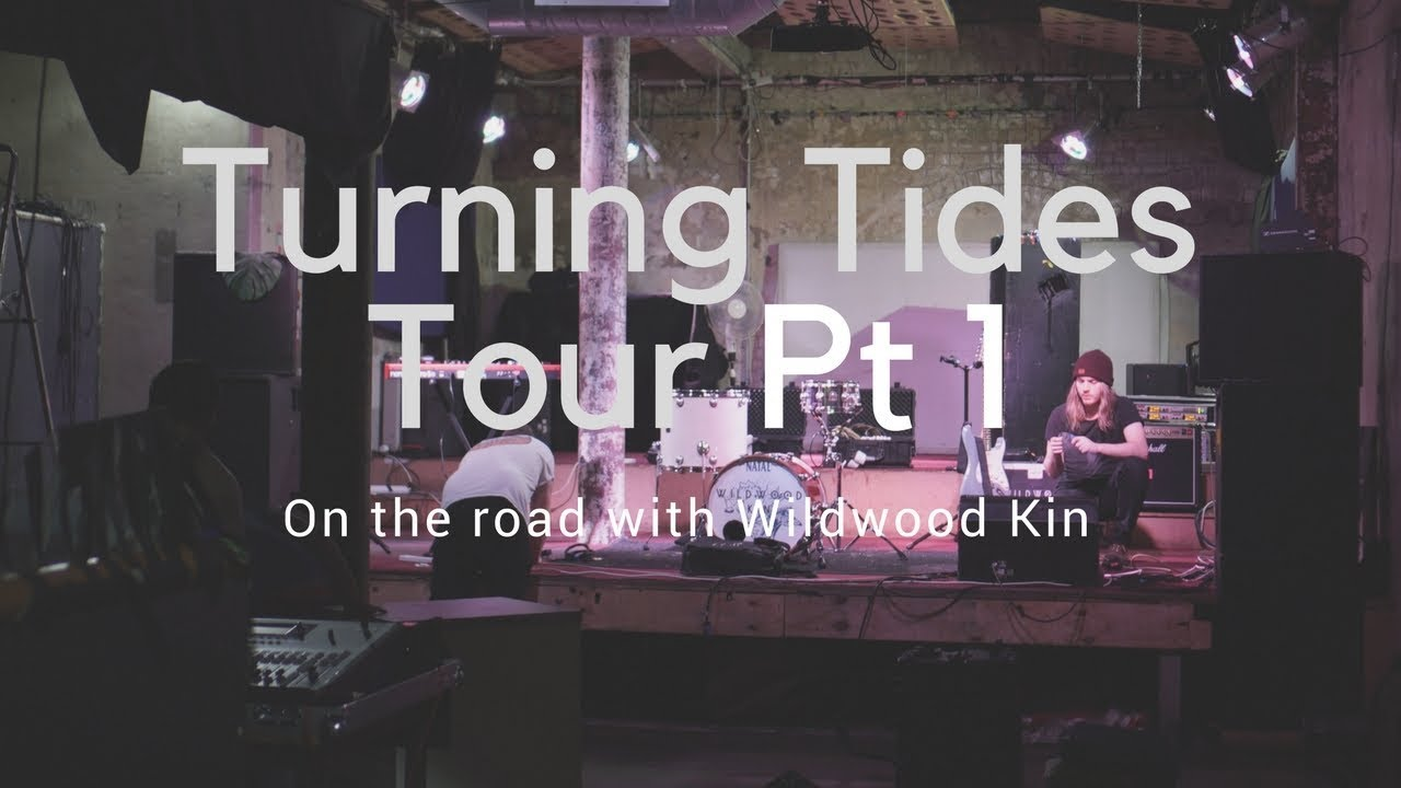 On the road with Wildwood Kin Vlog 5 – Turning Tides Tour Part 1