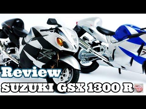 Review model 1/12 SUZUKI GSX 1300 R