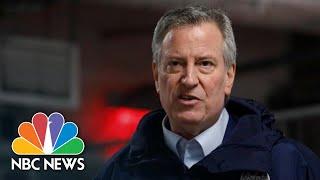 Live: New York City Mayor De Blasio Holds Briefing | NBC News