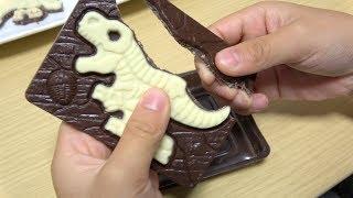 キャラパキ発掘恐竜チョコDinosaurFossilChocolate