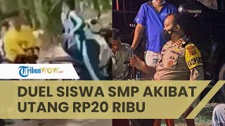 Gara-gara Utang Rp 20 Ribu, 2 Pelajar SMP di Jambi Adu Jotos hingga Kritis