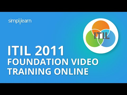ITIL 2011 Foundation Video Training Online | ITIL Exam Questions ...