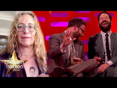 Máma Setha Rogena na Twitteru - The Graham Norton Show