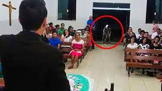 MYSTERIOUS THINGS CAUGHT ON CAMERA IN CHURCH