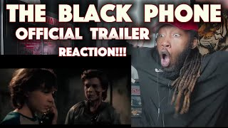 The Black Phone Official Trailer Reaction!!!