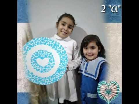 Video: Día de la Escarapela: alumnos de la Escuela Juan Bautista Alberdi muestran su trabajo