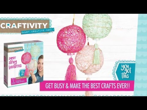 Craftivity - Super Strings Lanterns