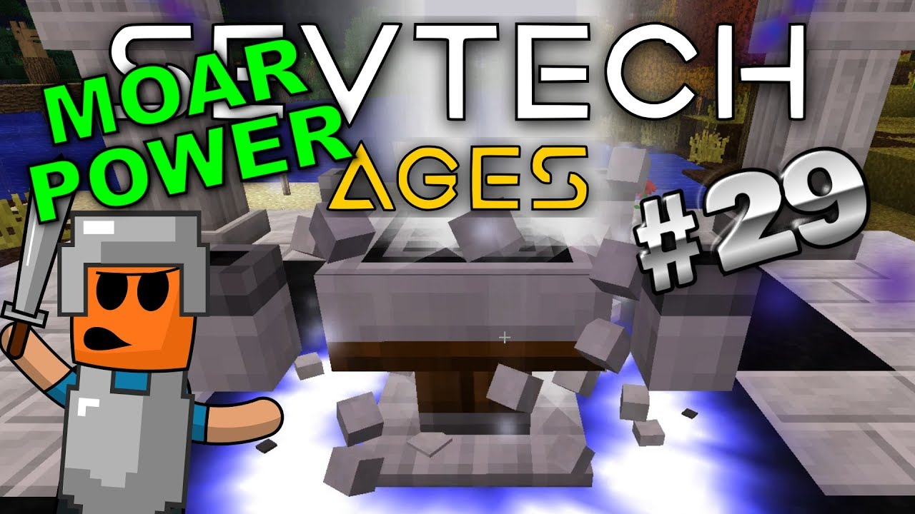 Minecraft - Celestial Altar Upgrade - SevTech Ages #29